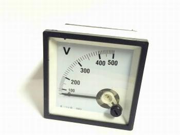 paneelmeter 0-500 ampere AC