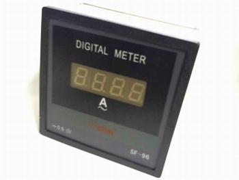 Digitale paneelmeter 0-100 ampere AC 100/5A