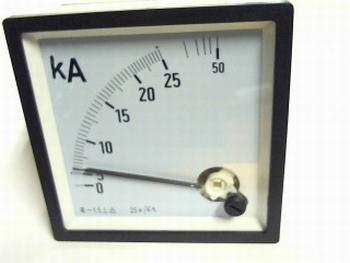 paneelmeter 25KA/5A AC