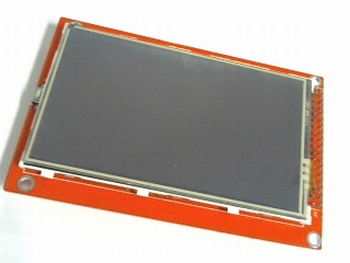 "3.5"" inch TFT Touch Screen with SD entry"