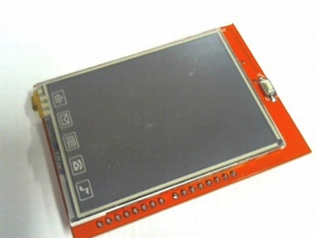 TFT display 2,4 inch met touchscreen en SD entry