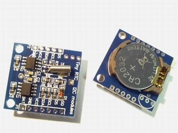 DS1307 RTC I2C module met 24C32 geheugen en batterij