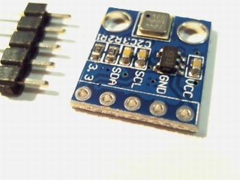 BMP180 temperatuur/ druk sensor module 5 pins met header