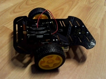 Robot platform zwart