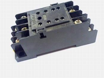Relaisvoet voor 2 polig relais