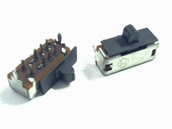 Mini slide switch 3 switch positions