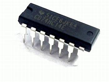 74HC14 Inverter Schmitt Trigger