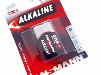 9 volt blok batterij