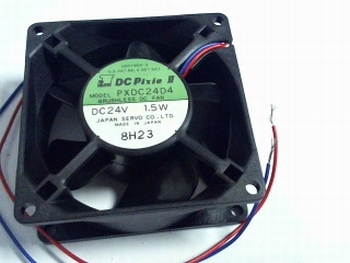 Fan 80x80x31 mm 24volt