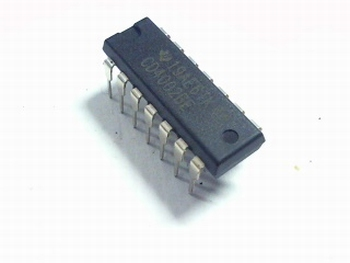 CD4002 Dual 4-Input NOR Gate