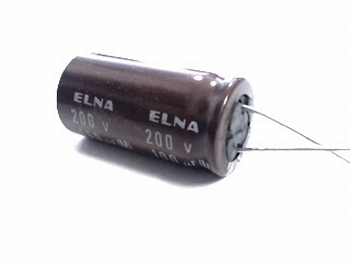 ELCO 100uF - 200 volt