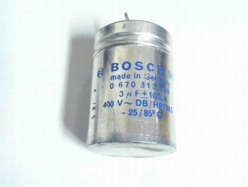 Startcondensator 3 uf 400V Bosch