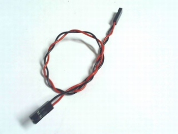 2 pins twisted female to female dupont cable
