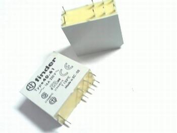 Relais 24V AC 16A SPDT Finder 40,61