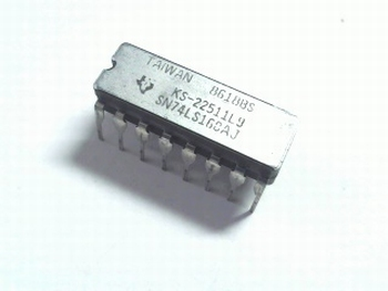 74LS160 Decade Counter with Asynchronous Clear DIP16