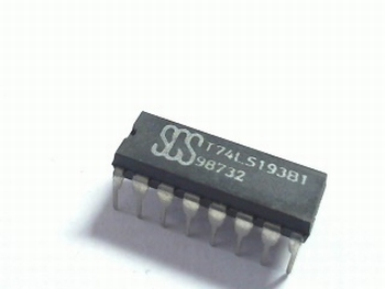 74LS193 Binary Up/Down Counter with Clear