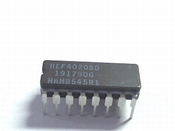 HEF4020 14 Stage Binary Ripple Counter