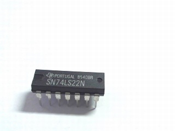 74LS22 DUAL 4-INPUT NAND GATE