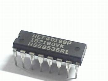HEF4019 Quadruple 2-Input Multiplexer