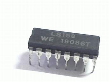 74LS158 Quad 2/1 Multiplexer Inverter