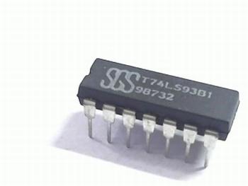 74LS93 4-bit Binary Counter