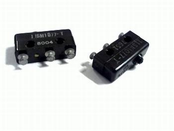 Micro schakelaar 125VAC-30VDC 100ma