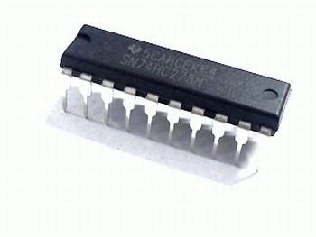 74HC273 DIP Octal D-type flip-flop with reset