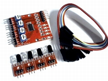 4 channel Line Tracking Sensor Module.