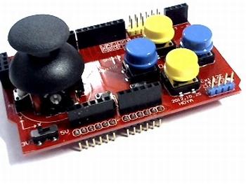 Joystick shield module