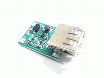 DC-DC boost converter 0,9V-5V to 5 V USB out