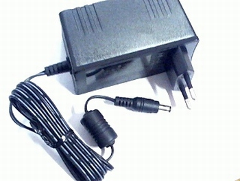 Stekker Netvoeding 12 volt 2,5 A