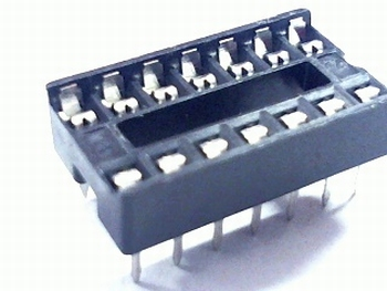 14 pins standard IC socket