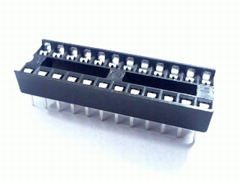24 pins small standard IC socket