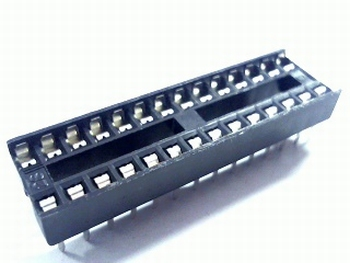 28 pins small standard IC socket