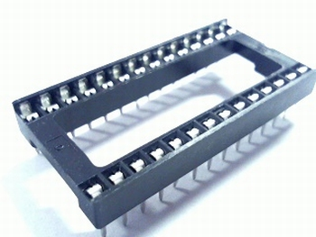 28 pins wide standard IC socket