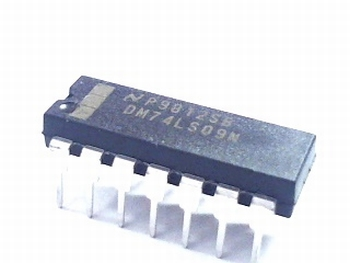 74LS09 Quad 2-input nand gate with open collector