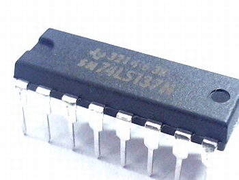 74LS137 3-to-8 Line Decoder with Address Latches DIP16
