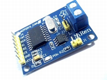 MCP2515 Can Bus module TJA1050 receiver.