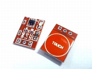 Capacitive touch switching module TTP223