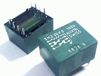 Relais SM2-24V-D1024 Reed-Relais alcatel