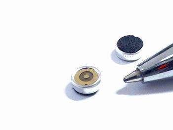 Elektret micro microfoon 6mm x 2.5mm