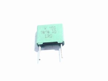 MKT capacitor 100 nF 100V RM8