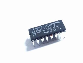 74HC4053 Triple 2-Channel Analog Multiplexer/Demultiplexer