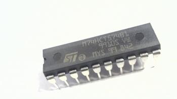 74HC574 Octal D-type flip-flop positive edge-trigger 3-stage