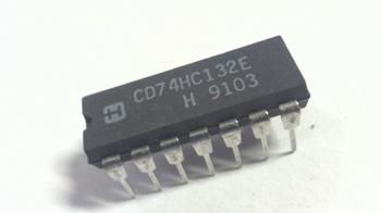 74HC132 Quad 2-input NAND Schmitt trigger