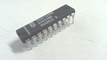 74HCT640 Octal Bus Transceiver with Direction Pin; Inverting