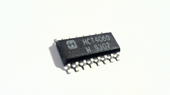 74HCT4060 14-Stage Ripple-Carry Binary Counter/Divider SMD