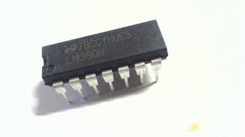 LM380 Versterker