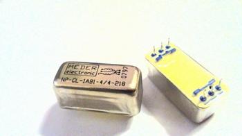 Relay Relais Meder NP-CL-1A81-9-21 SPST 10 OHM 1 Form - SPDT
