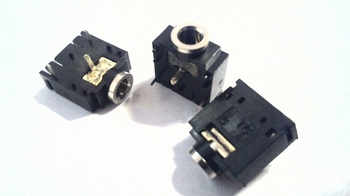 Jackbus mono voor printmontage 3,5mm plat